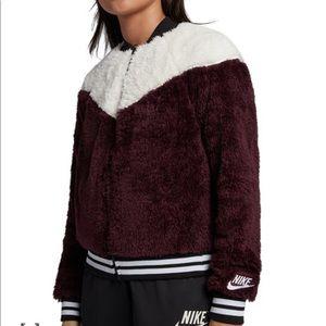 Nike Sherpa Bomber
